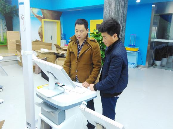 山东普瑞森2套儿童生长发育测试仪发往四川成都棕北小学