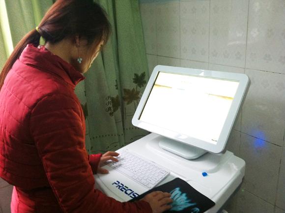 我公司技术人员赴四川芭蕉镇卫生院进行安装